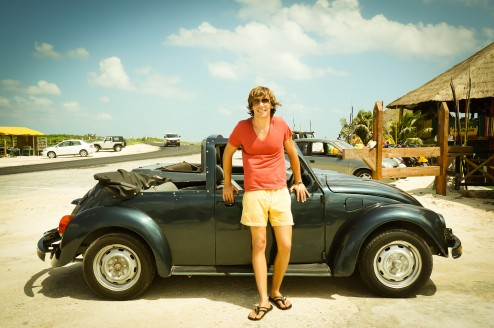 Our VW Beetle